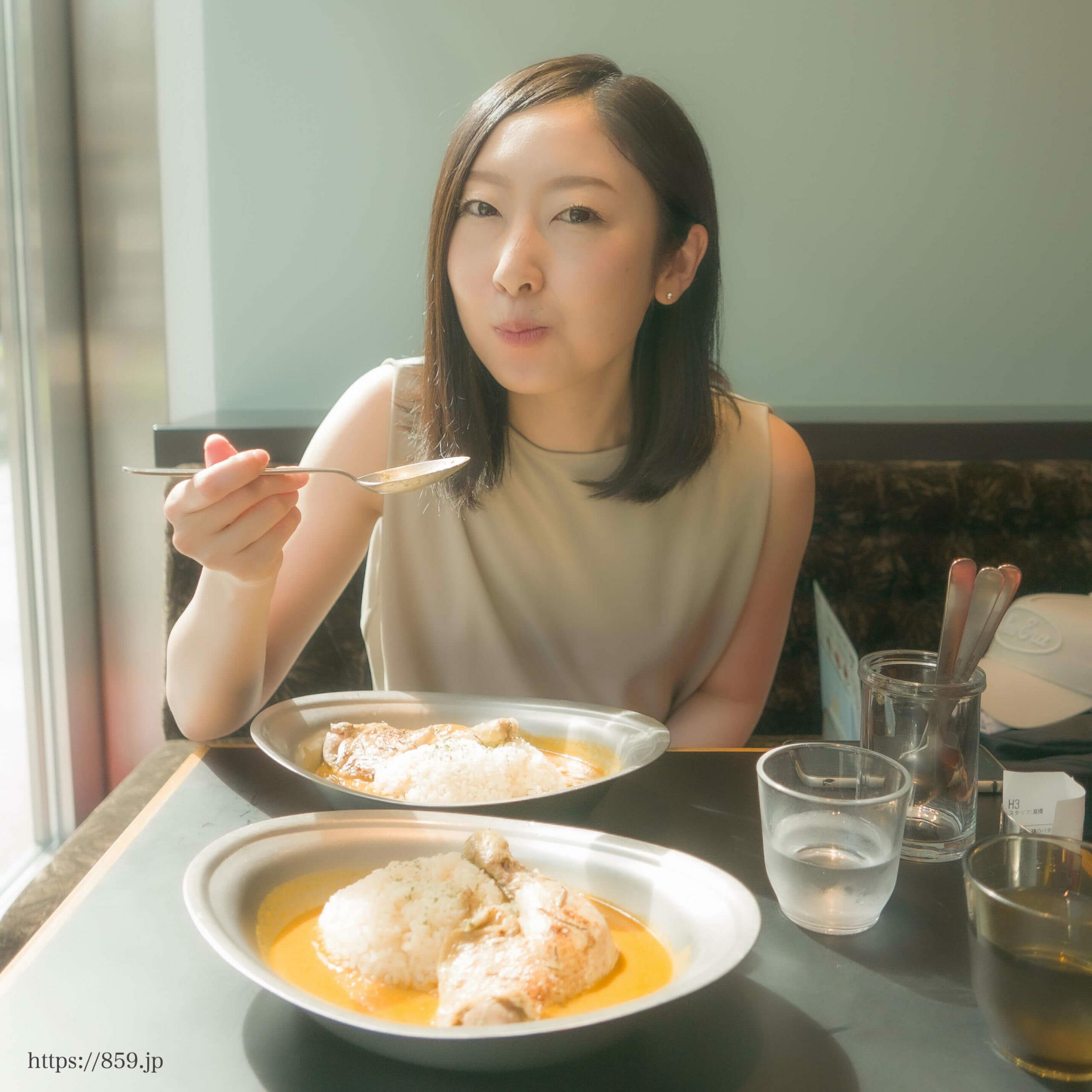 日本生命札幌ビルリシンクカフェ札幌バターチキンカレー大好き